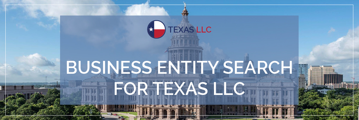 Business Entity Search For Texas LLC