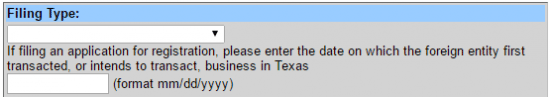 File a Foreign LLC in Texas Step 6