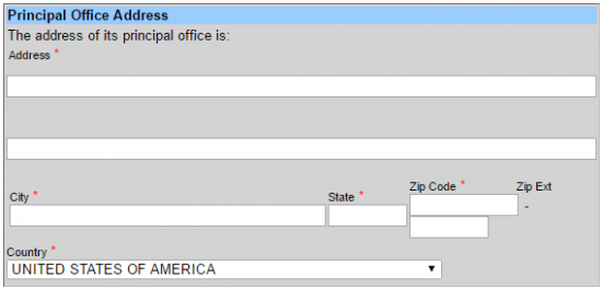 File a Foreign LLC in Texas Step 9